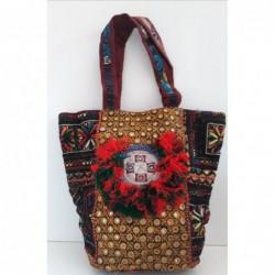 Gypsy Schulter Tasche - handgefertigt bunt