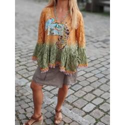 Gypsy Girl Tunika Spitze...