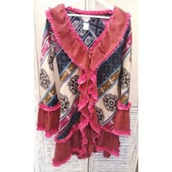 Volant Cardigan Gypsy Style...